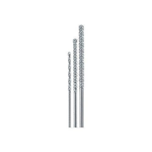 Avanti Pro 1/8-1/4-Inch Carbide Tipped Drill Bit Kit/Set for Masonry Drilling (3 Pieces)