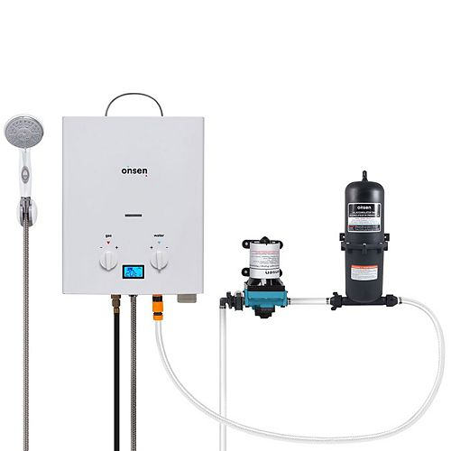 Onsen 5L Portable Water Heater with 3.0 Pump & 1.0L Accumulator