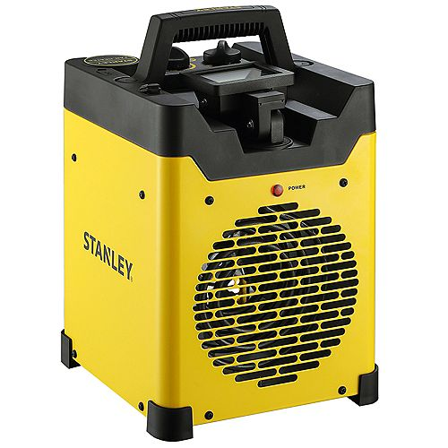 1500W Heavy Duty Portable Heater with Light and USB