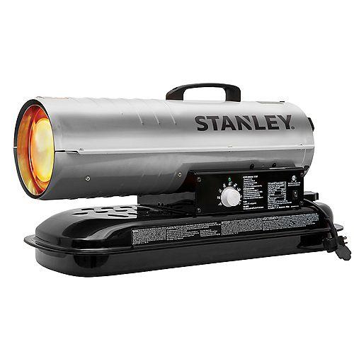 Stanley 80,000 BTU Kerosene Diesel Forced Air Heater with Thermostat
