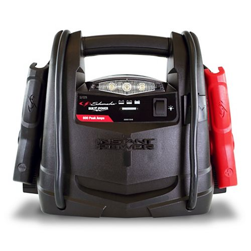 Démarrage rapide et puissance portable de 600 ampères maximum
