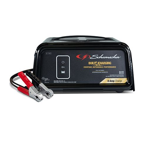8-Amp 6/12V Fully Automatic Battery Charger