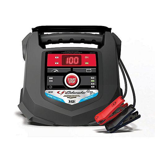 Chargeur rapide de 15 ampères pour batteries automobiles et marines