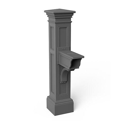 Poteau de boîte aux lettres Liberty (gris graphite)