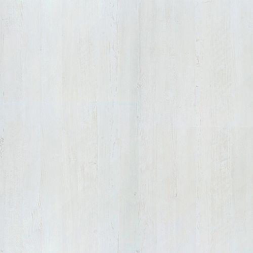 White Painted Wood 4 ft. x 8 ft. Laminate Sheet in Natural Grain Finish 8902-NG