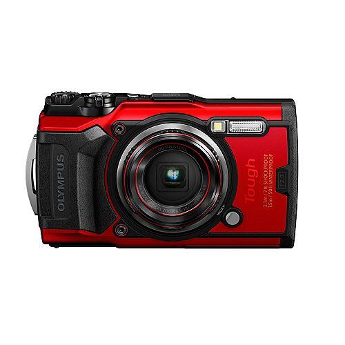 Tough TG-6 Digital Camera (Red)