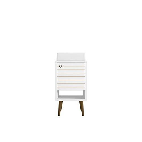 Liberty 17.71-inch Single-Sink Vanity in White with Vanity Top in White