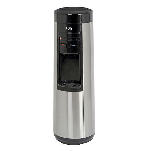 Distributeur deau sans bouteille à une étape branché à la canalisation avec système de filtration