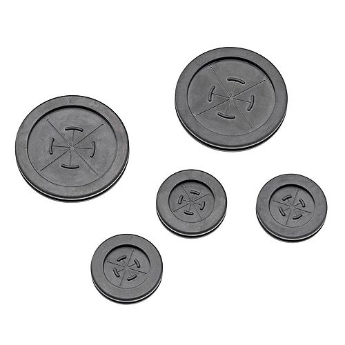 Grommets for Structured Media Center Knockouts, 5-Pack
