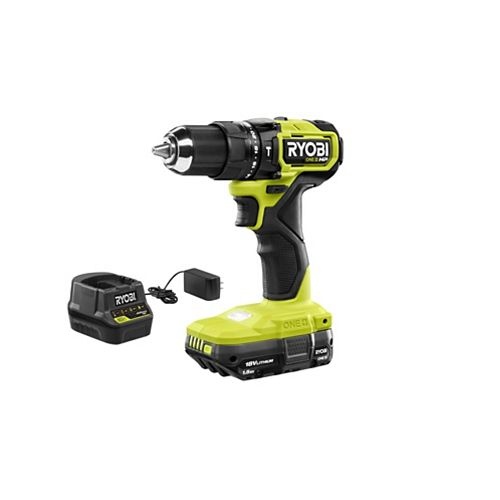18V ONE+ HP Brushless Cordless Compact Hammer Drill Kit with 1.5 Ah Battery and Charger