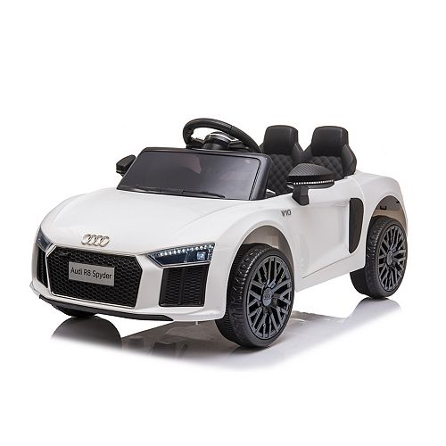 Audi R8 Spyder Electric Ride On-White