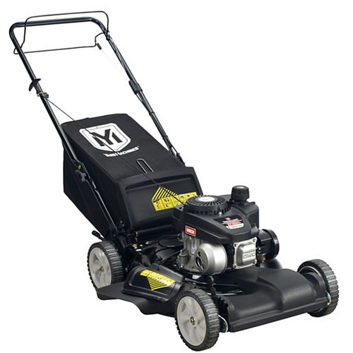 Yard Machines 21-inch 140cc PowerMore Engine 3-in-1 Gas Front Wheel Drive Self-Propelled Lawn Mower