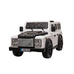 Véhicule électrique Land Rover 12V - Blanc
