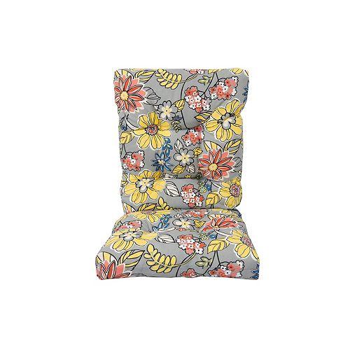 Highback Cushion Floral