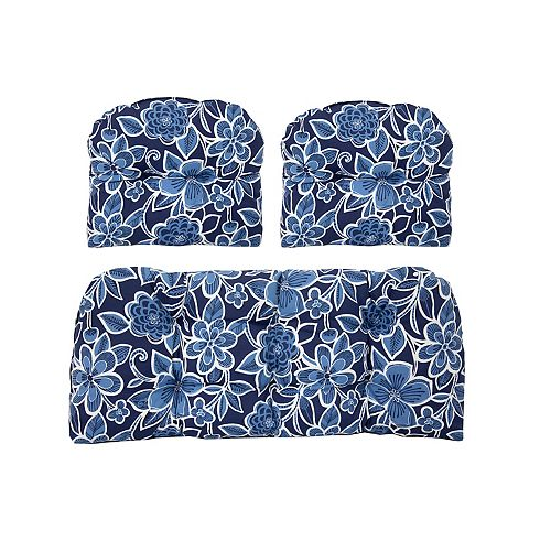 3 Piece Cushion Set Floral