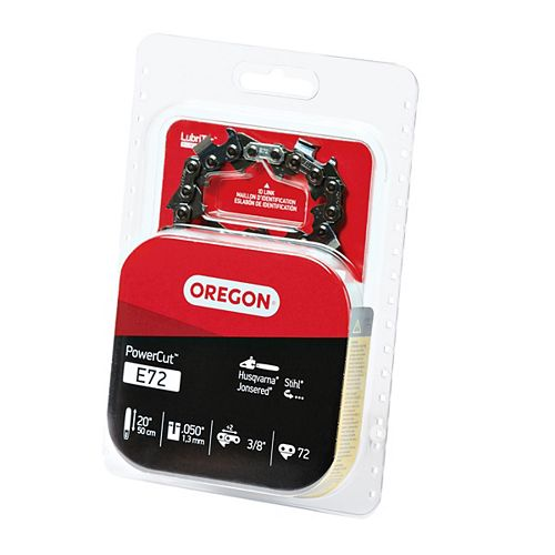 "Oregon Oregon E72 PowerCut Saw Chain, 20"""