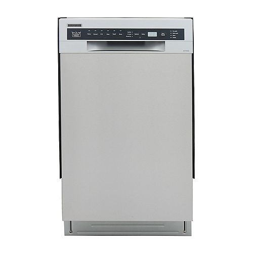 KUCHT Professional 18-in Front Control Dishwasher
