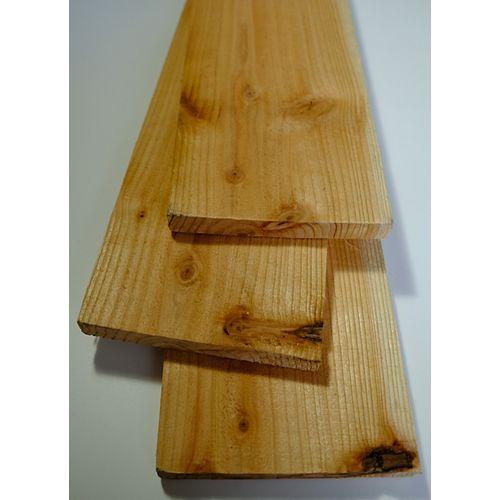 1x6x6 Sugi Wood Fence Board