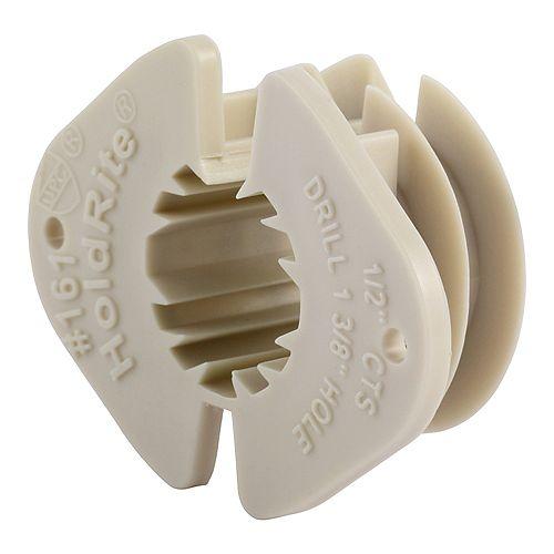 Holdrite 1/2 inch Wood Thru-Stud Isolater-15PK