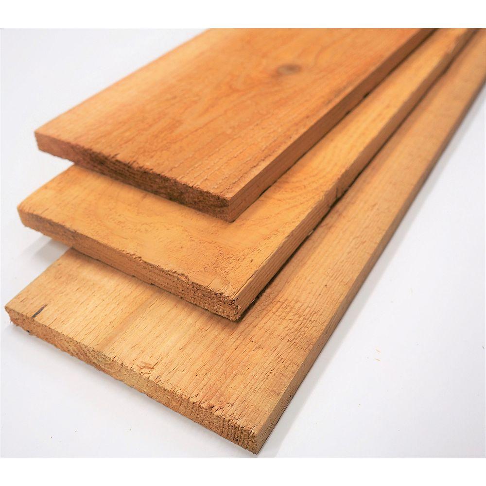Incense Cedar 1 in x 8 in by 8 feet Incense Cedar