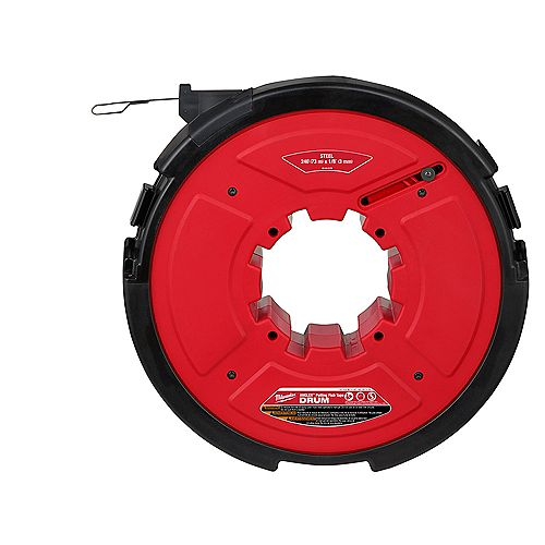M18 FUEL Angler 240 ft. x 1/8 -inch Steel Pulling Fish Tape Drum