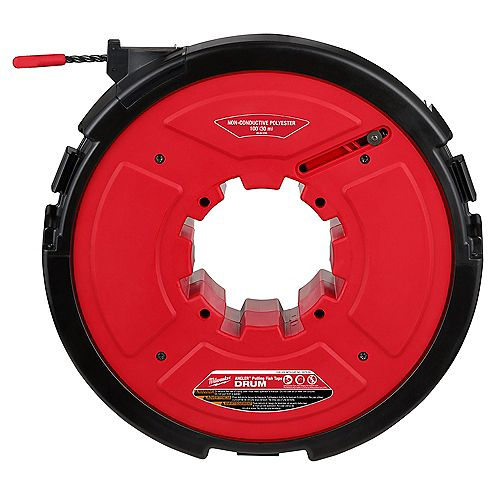 M18 FUEL Angler 100 ft. Non-Conductive Polyester Pulling Fish Tape Drum
