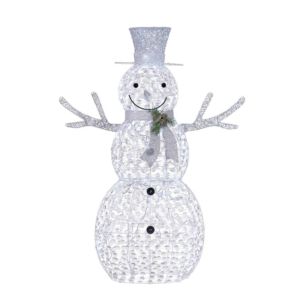 Home Accents Holiday 5 ft LED Rhinestone Snowman