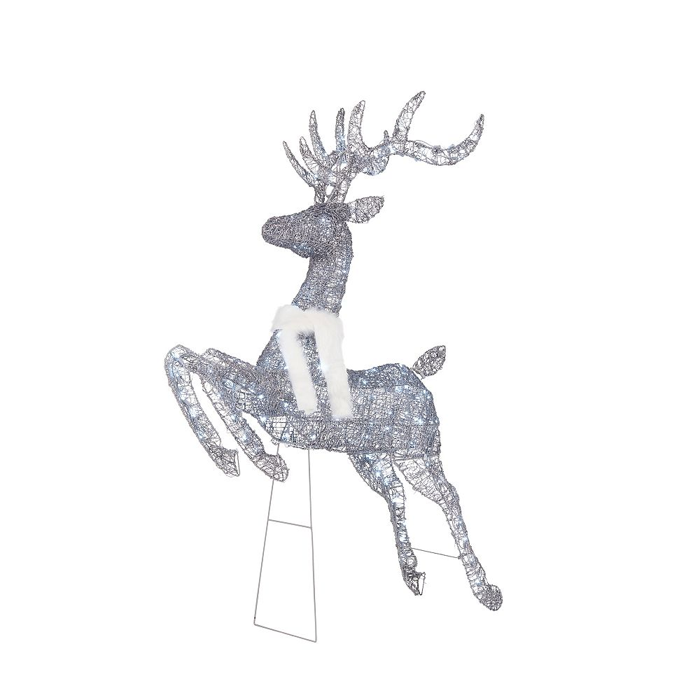 Home Accents Holiday 5 ft LED Deer 160 Cool White LED Lights