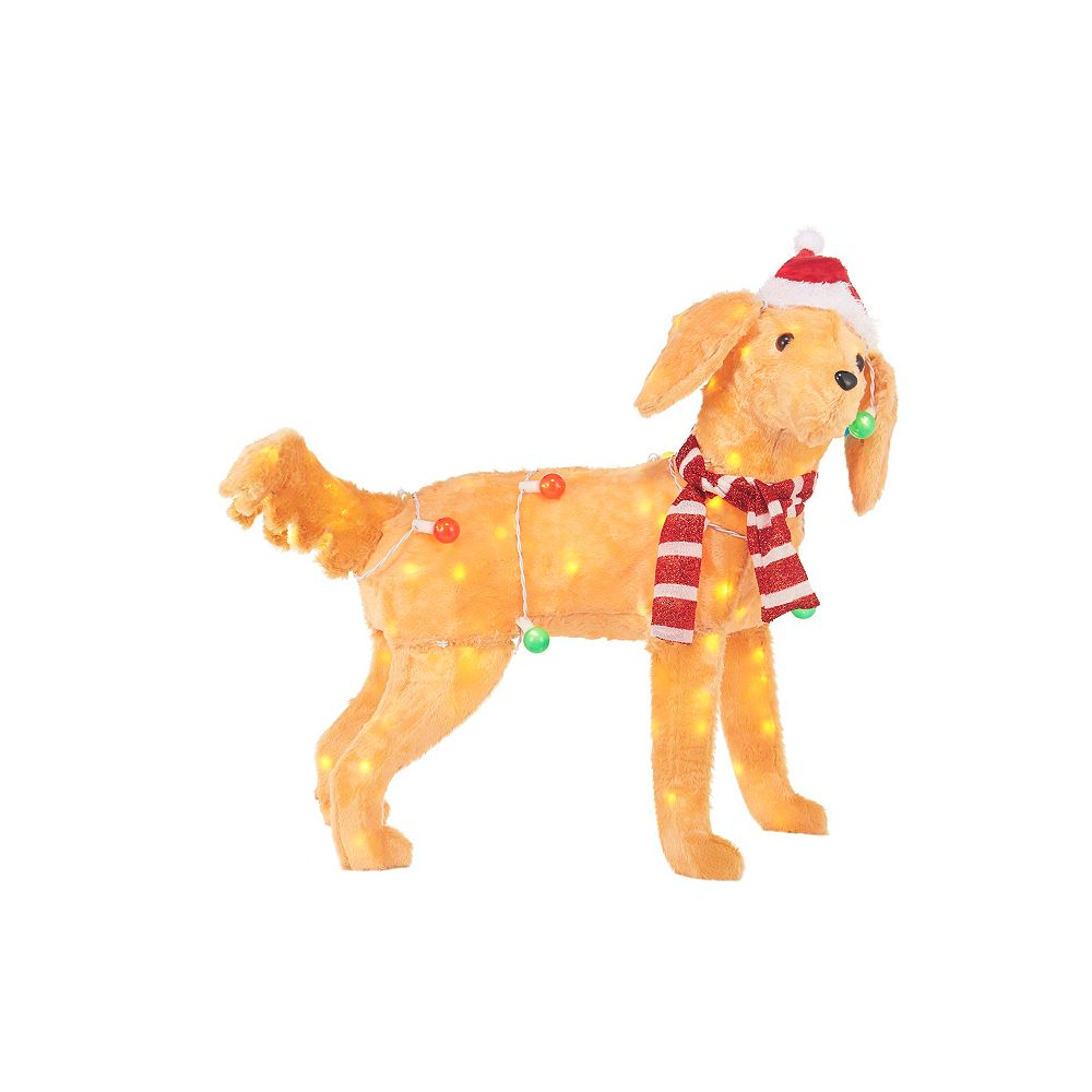 Home Accents Holiday 3 ft LED Dog with Light String