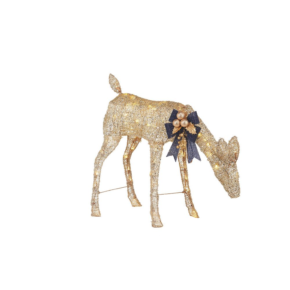 Home Accents Holiday 2.5 ft LED Doe, 80 Warm White LED Lights