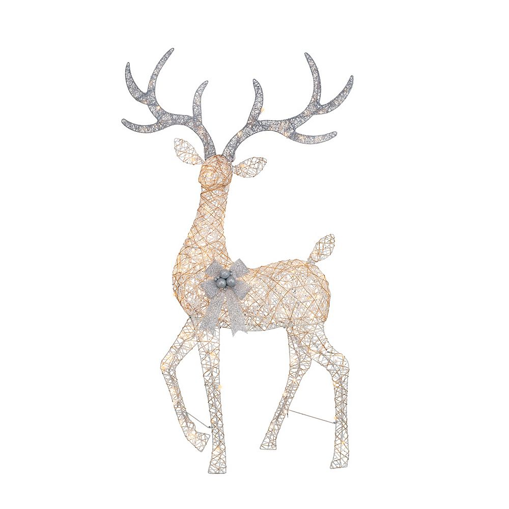 Home Accents Holiday 5.5 ft LED Deer