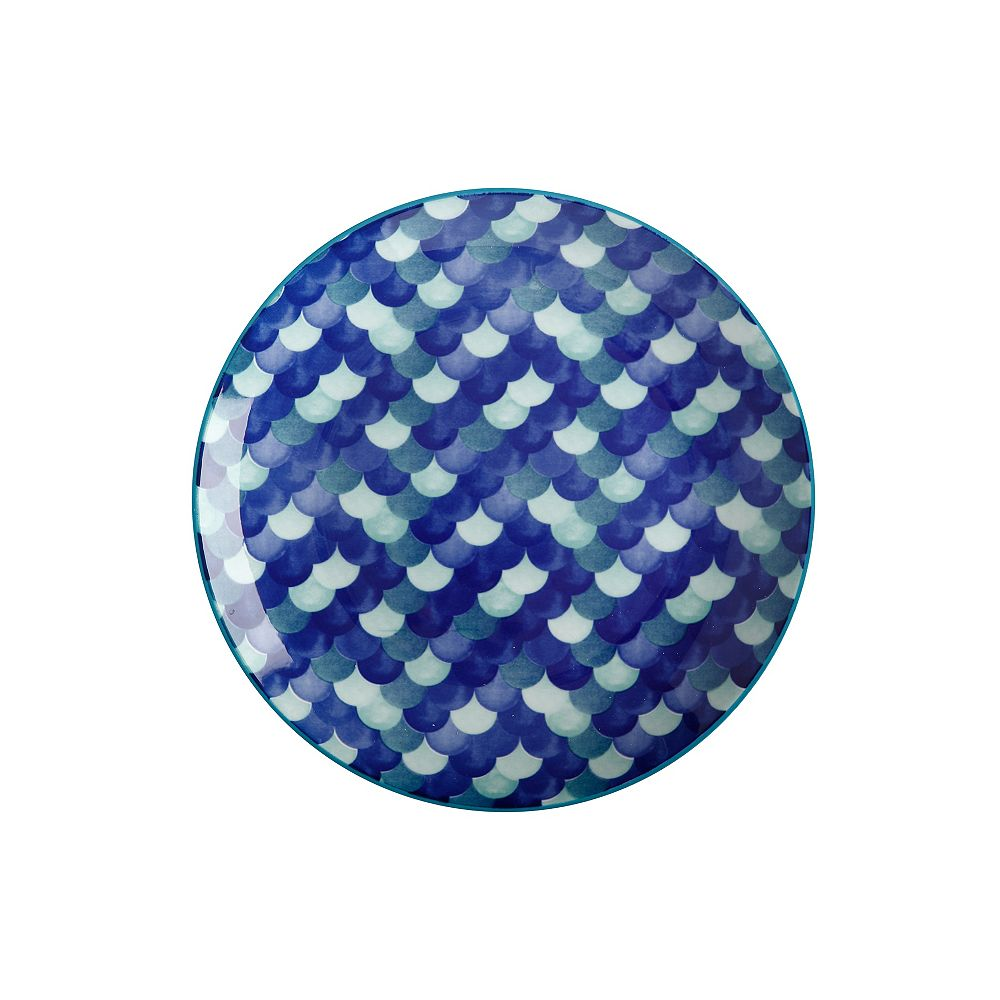 Maxwell & Williams Reef Scales Dinner Plate 27 cm - Pack of 4