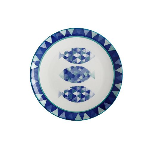 Reef Fish Side Plate 20 cm - Pack of 4