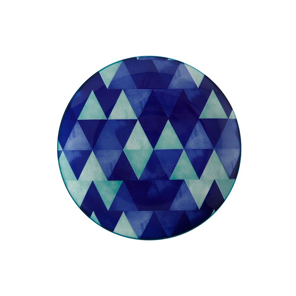 Maxwell & Williams Reef Triangles Side Plate 20 cm - Pack of 4