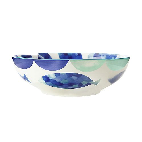 Reef Fish Coupe Bowl 18 cm - Pack of 4