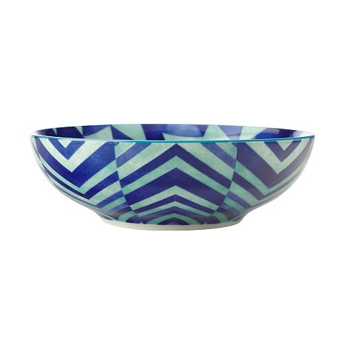 Reef Triangles Coupe Bowl 18 cm - Pack of 4