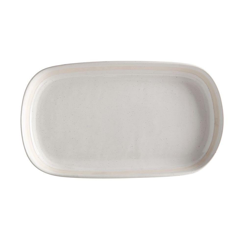 Maxwell & Williams Vanilla Pod Oval Platter 34 cm x 19 cm