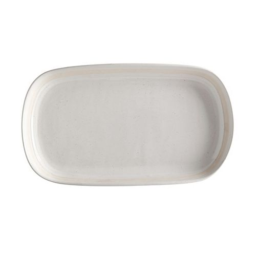 Vanilla Pod Oval Platter 34 cm x 19 cm
