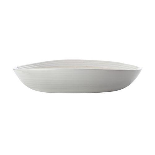 Vanilla Pod Oval Bowl 33 cm x 23 cm