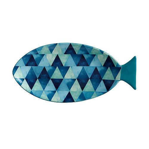 Reef  Fish Oval Platter 30 cm