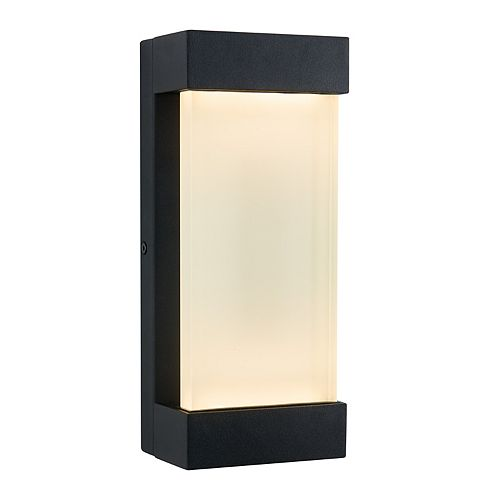 Glacier LED Integrated Outdoor Wall Light