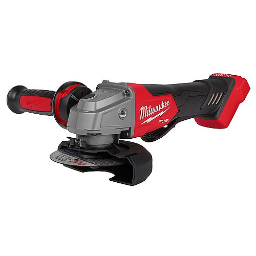 M18 FUEL 18V Lithium-Ion Brushless Cordless 4-1/2 -inch/5 -inch Grinder w/ Paddle Switch (Tool-Only)