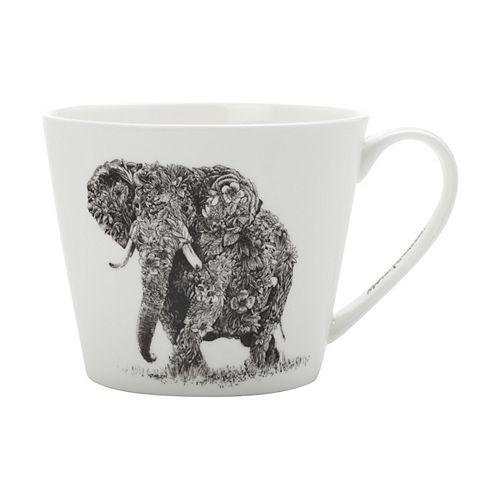 Marini Ferlazzo African Elephant Mug 450 ml - Pack of 4