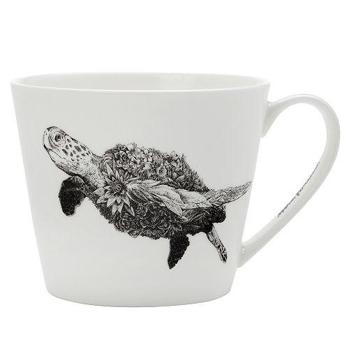 Marini Ferlazzo Green Sea Turtle Mug 450 ml - Pack of 4