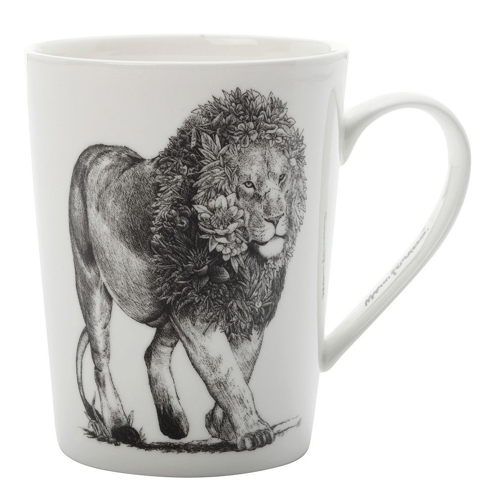 Maxwell & Williams Marini Ferlazzo African Lion Mug 450 ml - Pack of 4