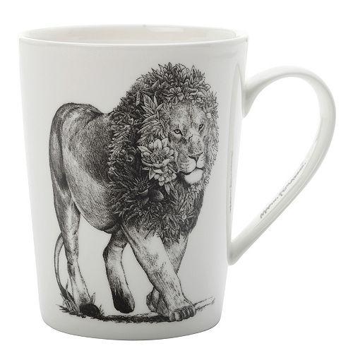 Marini Ferlazzo African Lion Mug 450 ml - Pack of 4