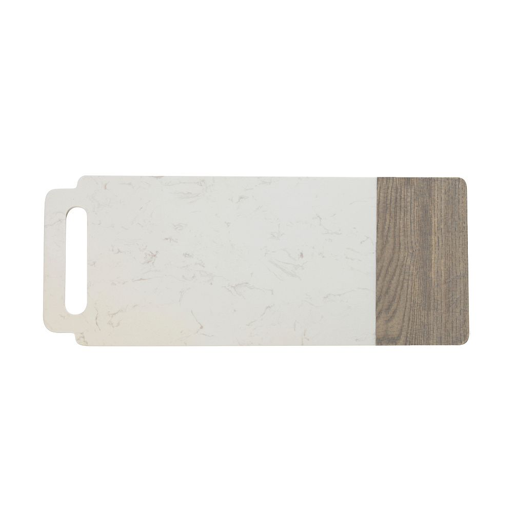 Maxwell & Williams Elemental Marble and Ash Wood board with handle 50 cm x 20 cm