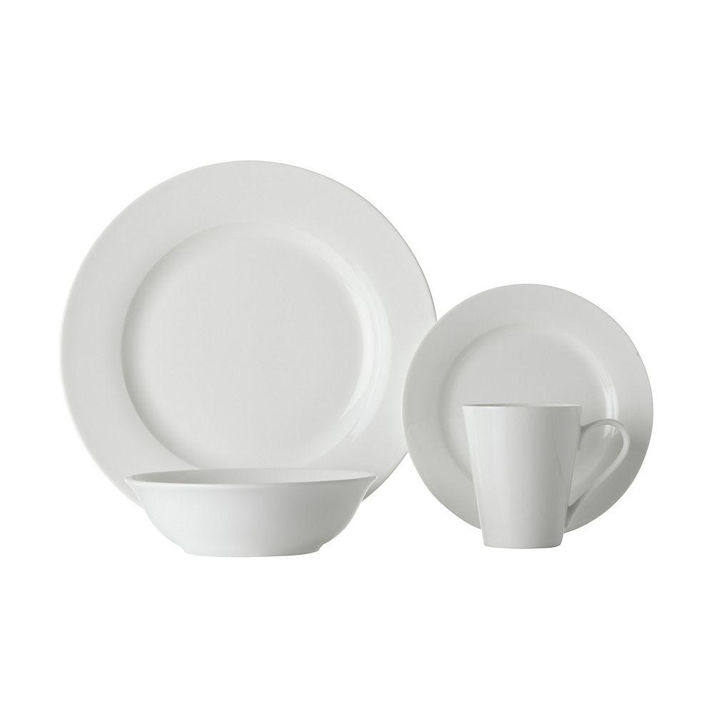 Maxwell & Williams Basic White Cosmo 16 piece dinnerware set