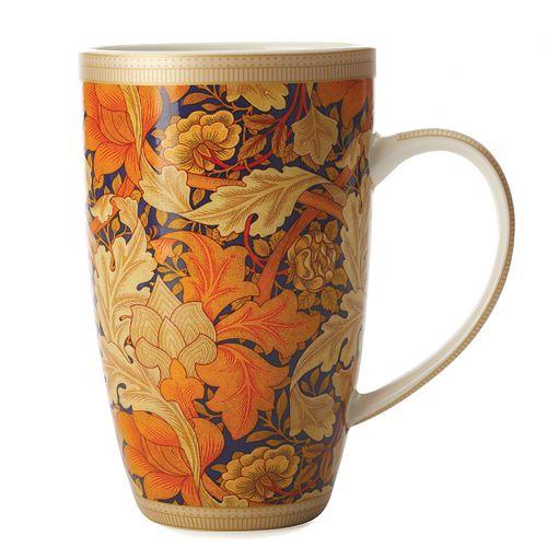 William Morris Acanthus Coupe Mug 420 ml - Pack of 6