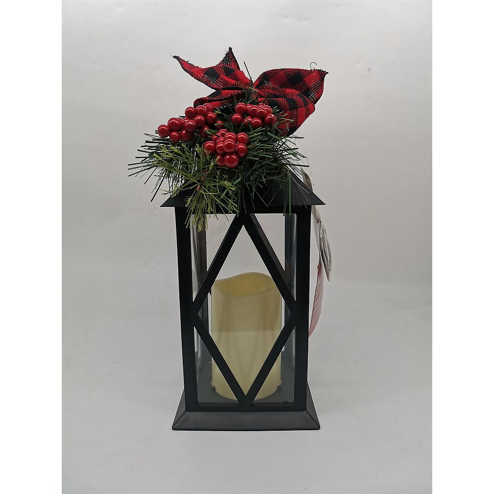 Home Accents Holiday 13-inch LED Candle Lantern Christmas Decoration
